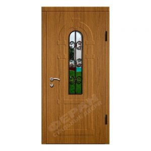 Входные двери Феран Модель Стекло 2_3D Ковка 3