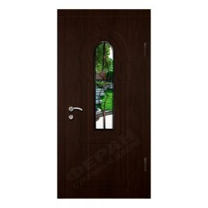 Входные двери Феран Модель Стекло 2_3D Ковка 4