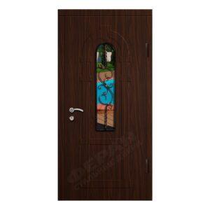 Входные двери Феран Модель Стекло 2_3D Ковка 5