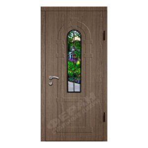 Входные двери Феран Модель Стекло 2_3D Ковка 6