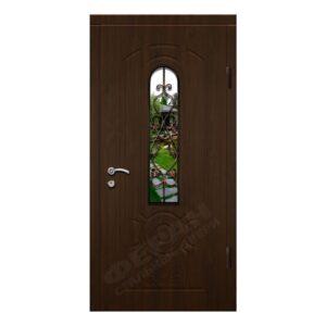 Входные двери Феран Модель Стекло 4 Ковка 2