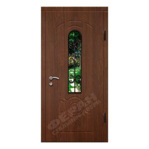 Входные двери Феран Модель Стекло 4 Ковка 3