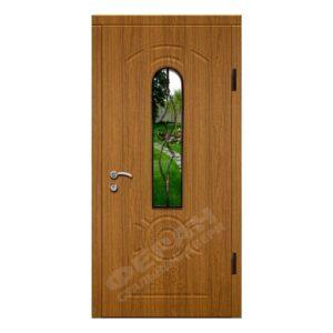 Входные двери Феран Модель Стекло 4 Ковка 4