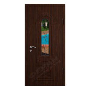 Входные двери Феран Модель Стекло 9 Ковка 4