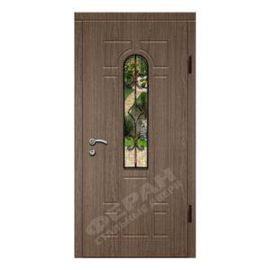 Входные двери Феран Модель Стекло Н122 Ковка 1
