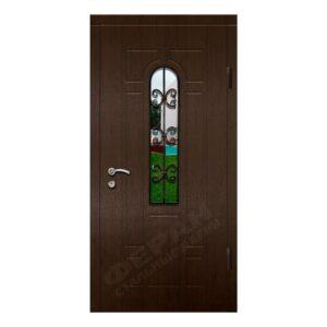 Входные двери Феран Модель Стекло Н122 Ковка 3