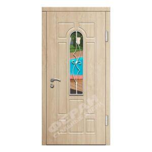 Входные двери Феран Модель Стекло Н122 Ковка 4