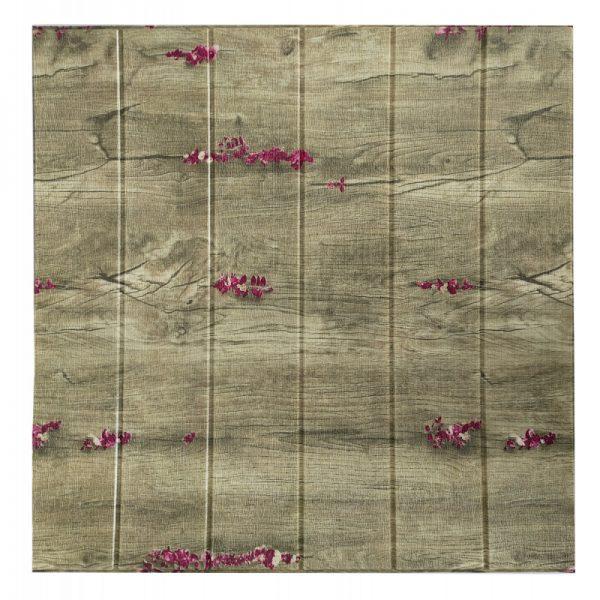 Самоклеющиеся 3д панели Дерево 700*700мм цвет 87