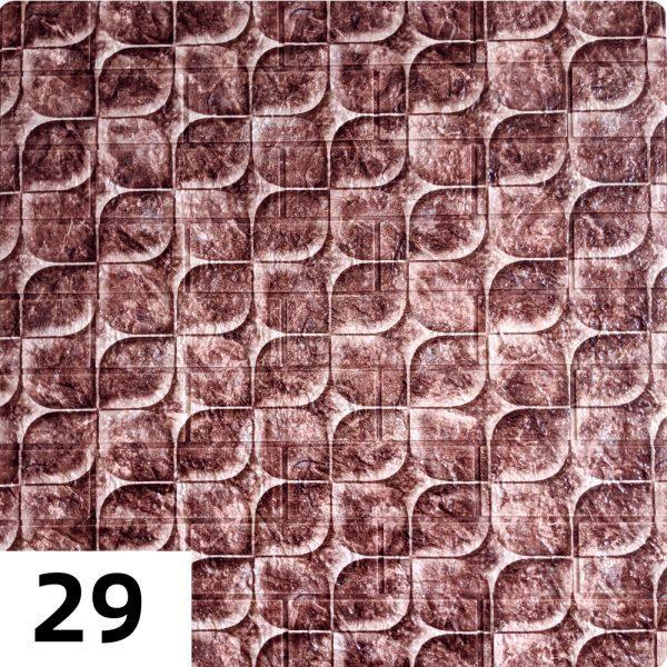 Самоклеющиеся 3д панели Миксы 700*770мм цвет 29 (Чешуя)