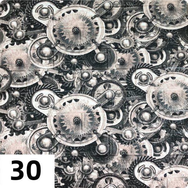 Самоклеющиеся 3д панели Миксы 700*770мм цвет 30 (Шестеренки)