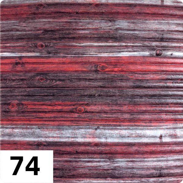 Самоклеющиеся 3д панели Бамбук 700*700мм цвет 74 (Красно-серый)