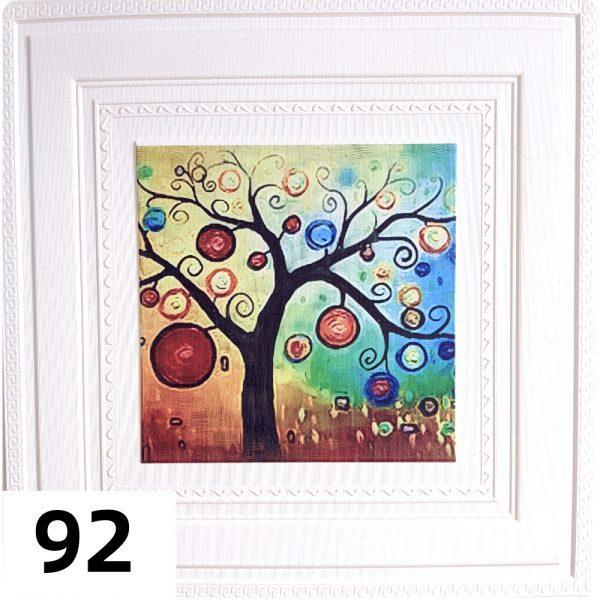 Самоклеющиеся 3д панели Картины 700*700мм цвет 92 (Дерево)