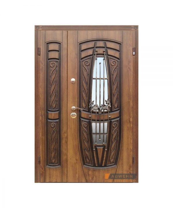 Входные двери Abwehr модель 209 Gracia Серия Cottage Vinorit Дуб золотой + патина