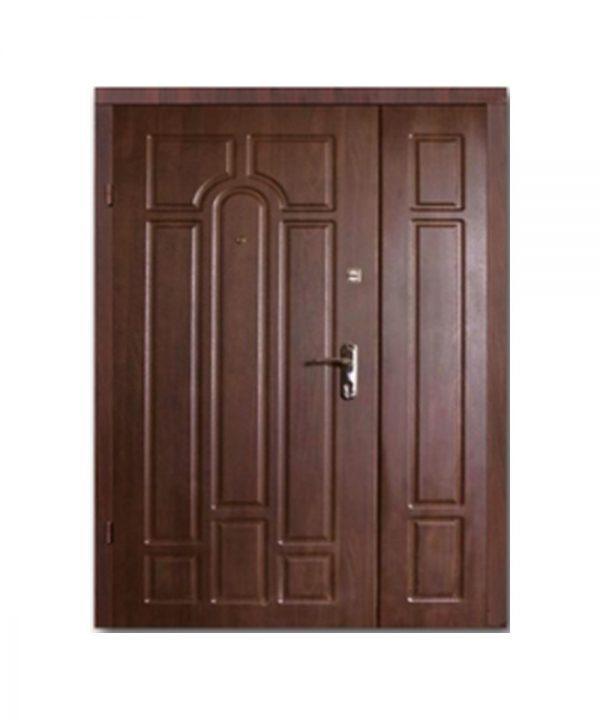 Входные двери Форт М Стандарт 1200 Пр Улица орех коньячный