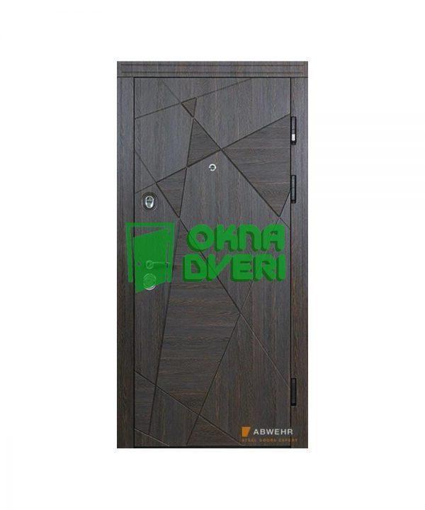 [Коллекция 2019р.] Входные двери модель Satoria (цвет Венге малые) комплектация Fаmily