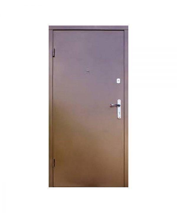 Входные двери форт Стандарт Метал/МДФ  Классик 860 Пр медь антик/орех темный
