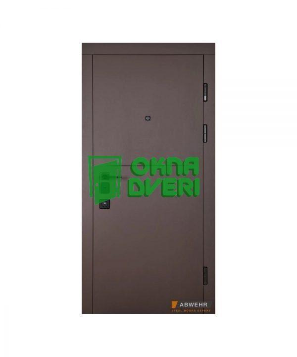 Входные двери модель (цвет Карамельное дерево + Дуб немо латте) Ekvatoria комплектация Safe