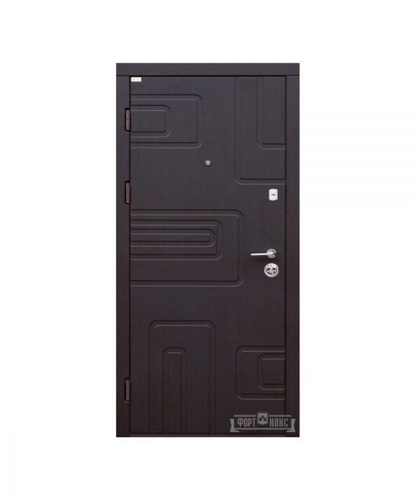 Входные двери Форт Нокс АКЦЕНТ New (МДФ МДФ)   венге южное    DG-40