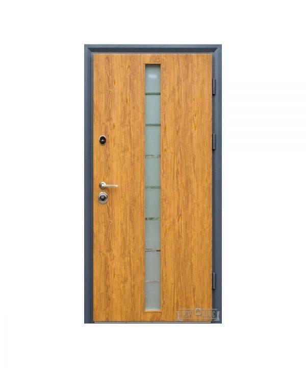 Входные двери Форт Нокс СТАТУС SG-дуб бронзовый