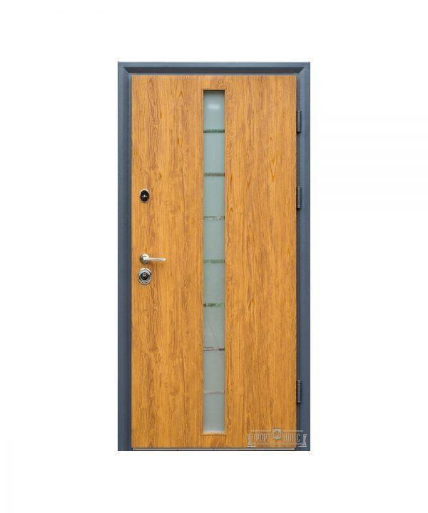 Входные двери Форт Нокс СТАТУС SG-дуб золотой