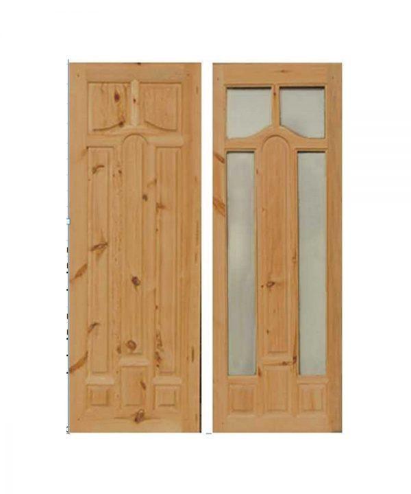 Межкомнатные двери из массива сосны Мадрид с сучком