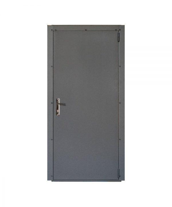 Входные двери Форт Нокс ТЕХНО (металл/металл)  графит  графит