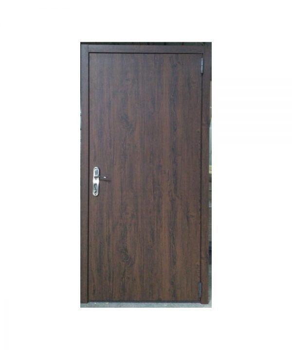 Входные двери Форт Нокс ТЕХНО (металлметалл)  дуб темный  дуб темный