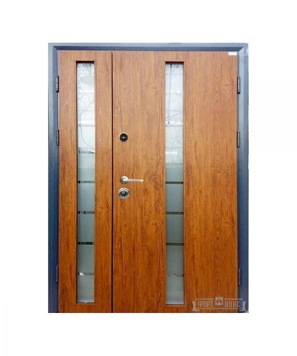 Входные двери Форт Нокс СТАТУС SG 1200х2030  золотой дуб
