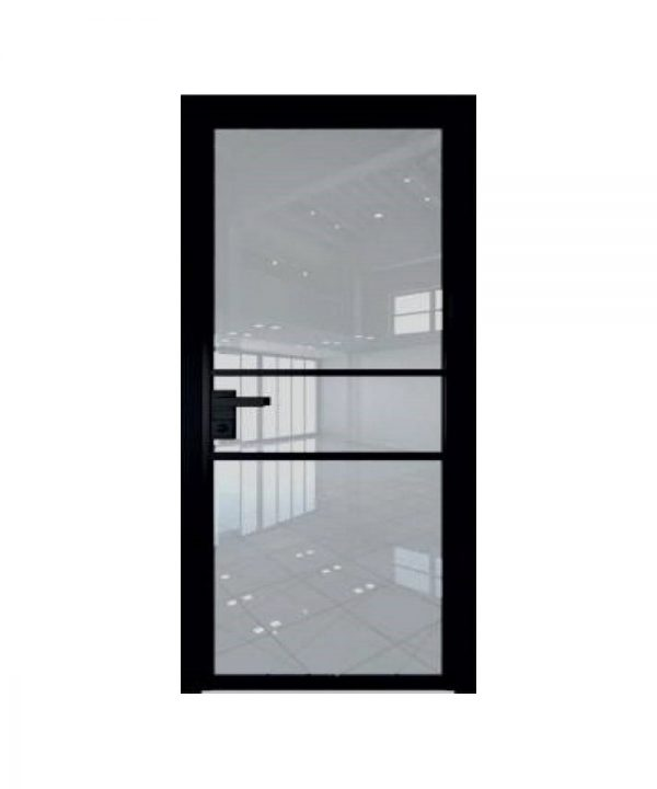 Стеклянные двери EcoVeneerGlass модель 2G