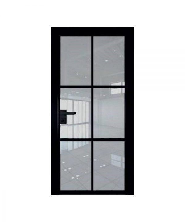 Стеклянные двери EcoVeneerGlass модель 3G