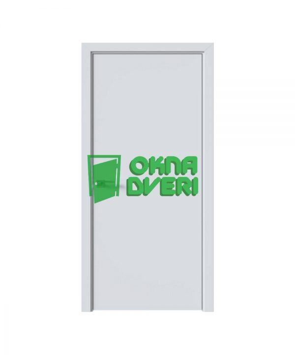 Межкомнатные двери Стандарт TP UM 34мм ПВХ DeLuxe арктик мат глухое